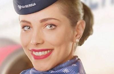 Air Serbia Hostess