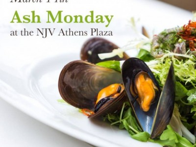 Ash Monday at the NJV Athens Plaza