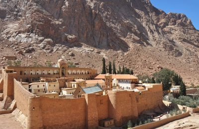 Mideast Travel Pilgrimage at Sinai Mount