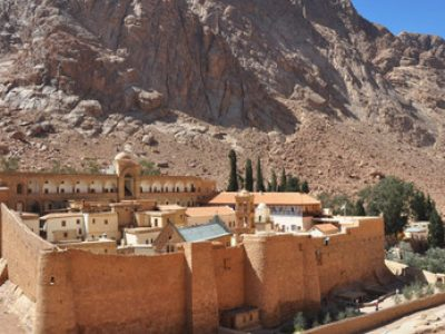 Mideast Travel Pilgrimage at Sinai Mount