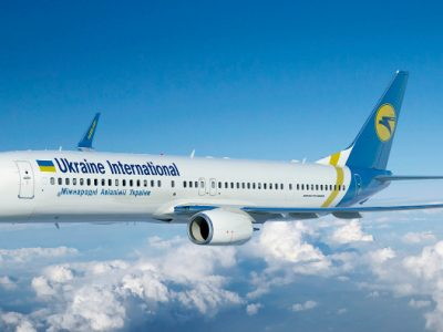 Ukraine International Airlines plane