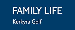 Family Life Kerkyra Golf logo
