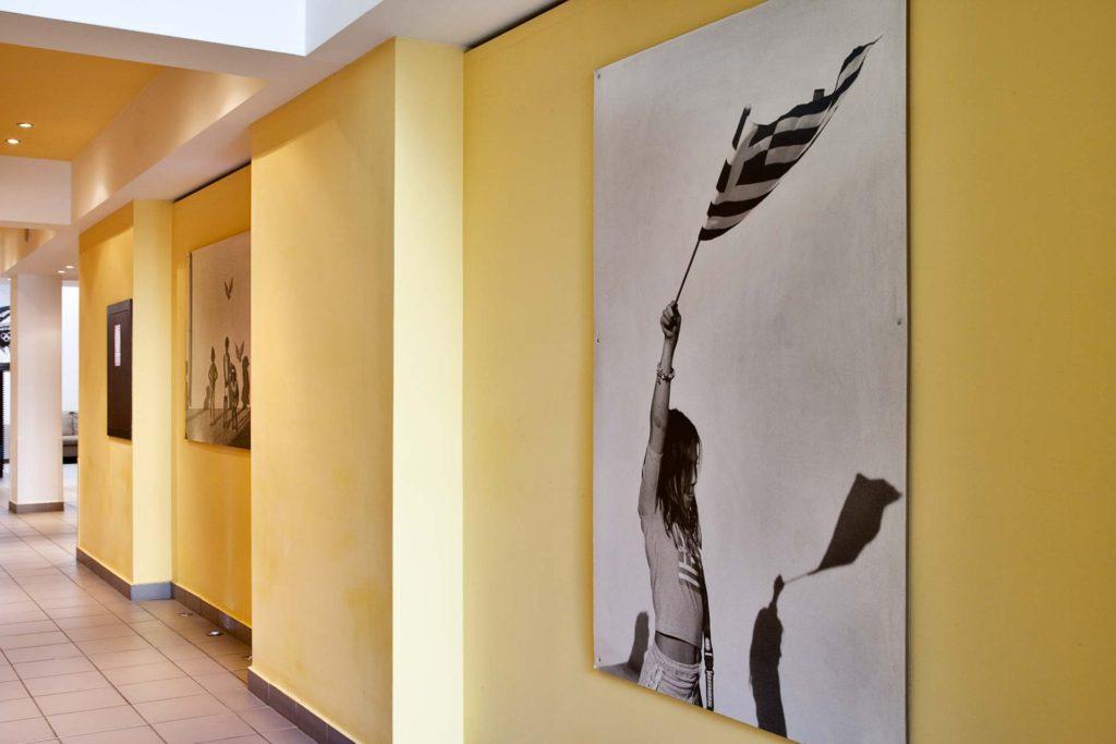 Arion Athens Hotel hallway