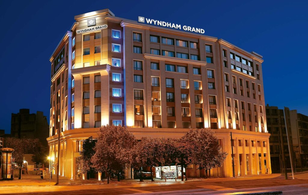 Wyndham Grand Athens night