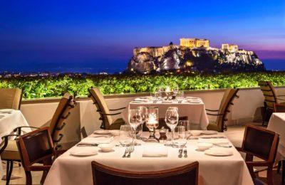 GB Roof Garden Restaurant ©Pavlos Tsokounoglou