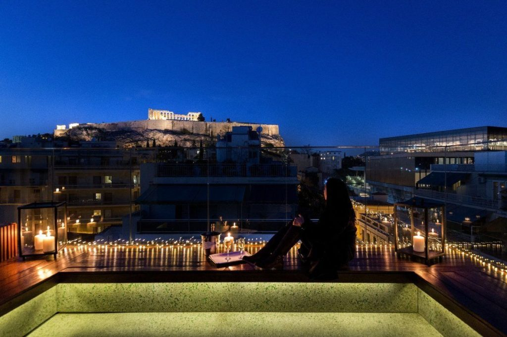 Belvedere Terrace, Philippos Hotel