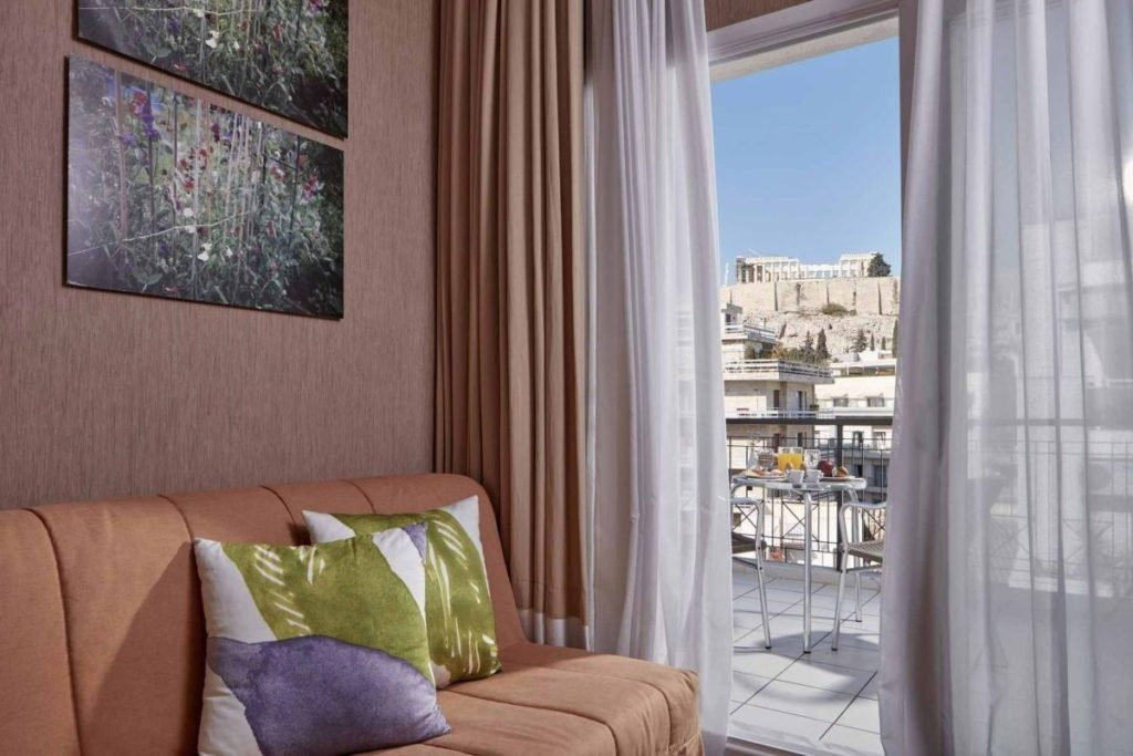 Room with Acropolis View, Philippos Hotel