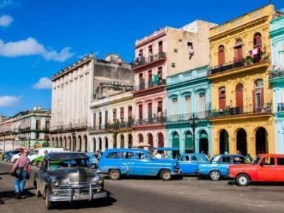 Cuba city travel latino
