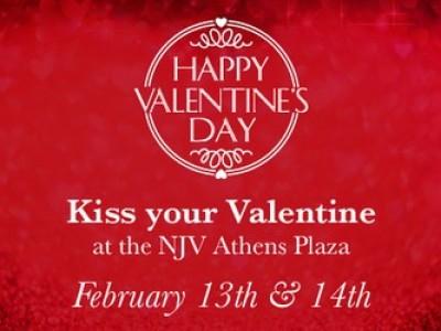 Η γιορτή των ερωτευμένων στο N.J.V. Athens Plaza