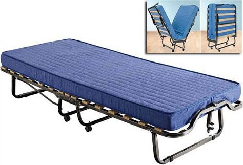 LUXOR Ράντζο Κρεβάτι 80x200 με τάβλες – ρόδες