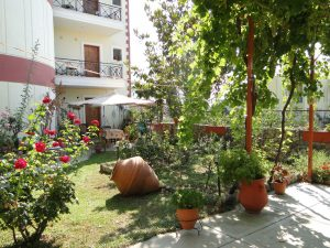 Kapougiati Studios garden