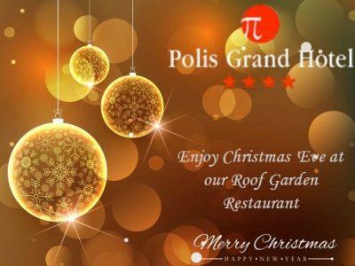 Polis Grand Hotel εορταστικά μενού