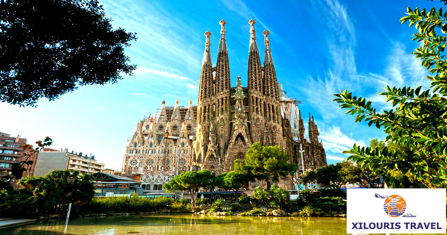 Xilouris Travel Εκδρομή Βαρκελώνη τριήμερο του Αγίου Πνεύματος