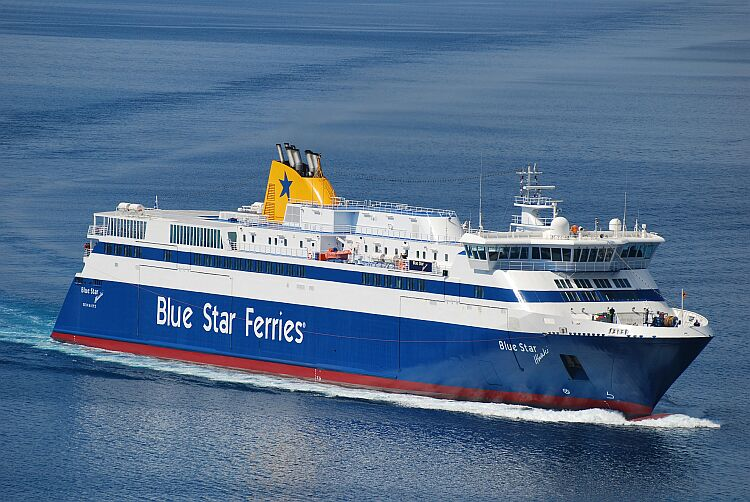 Blue Star Ferries Έκπτωση ακτοπλοϊκών εισιτηρίων Λέσβος Χίος Λέρος Κως