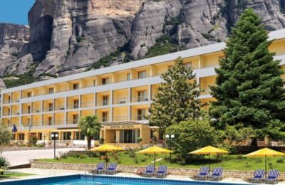 Divani Meteora Hotel overview