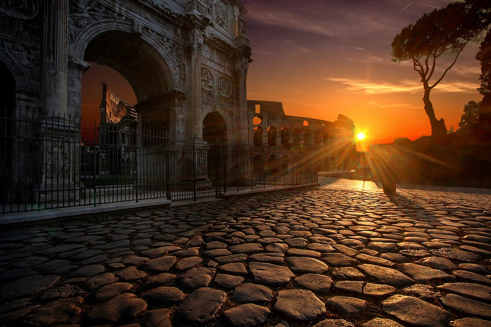 Rome Arch of Constantine pixabay