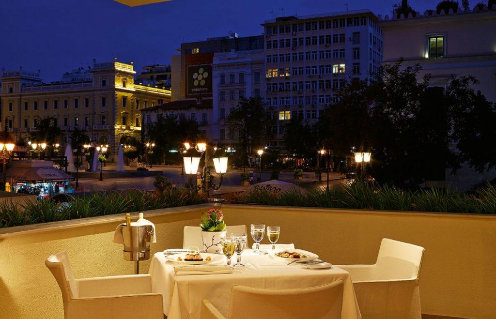 Private Dining, Grecotel Pallas Athena