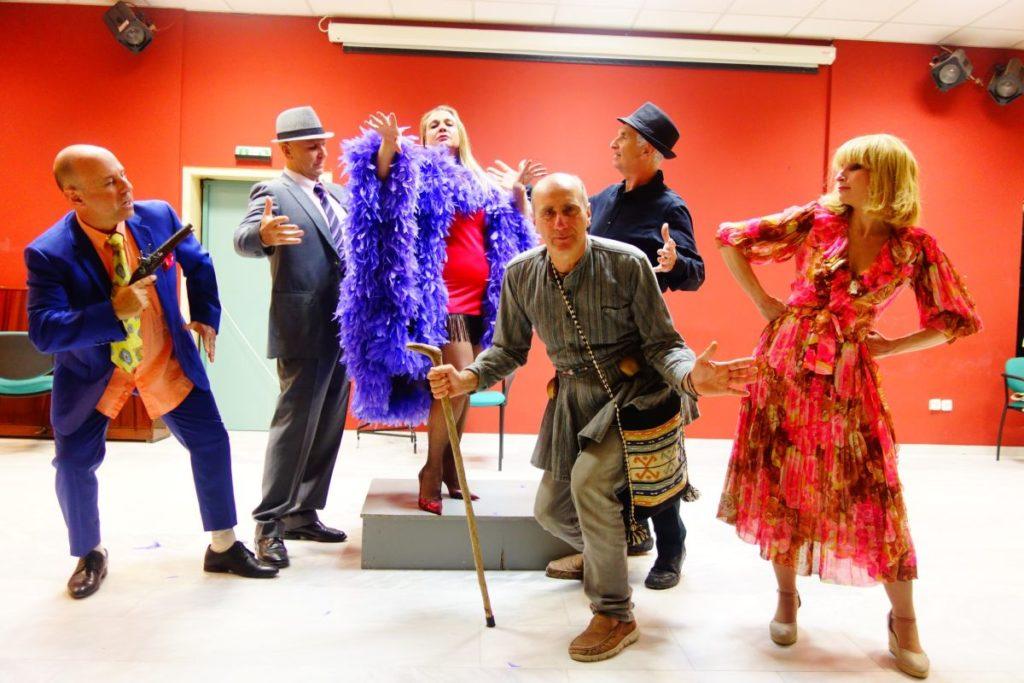 """""""Μακρυκωσταίοι & Κοντογιώργηδες"""", θεατρικό εργαστήρι Δήμου Βριλησσίων © Elatos Resort & Health Club"""